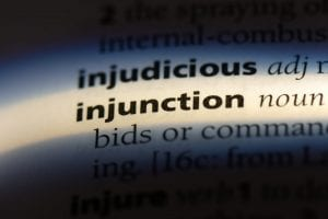 what is an injunction